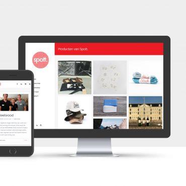 Spott. Amsterdam Webdesign