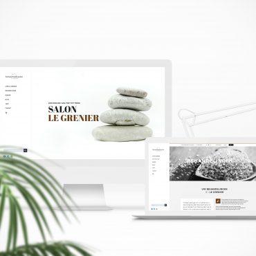 Webdesign Schoonheidssalon Le Grenier